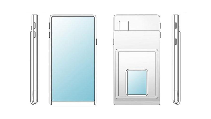 گوشی هوشمندی با اندازه متغیر صفحه نمایش