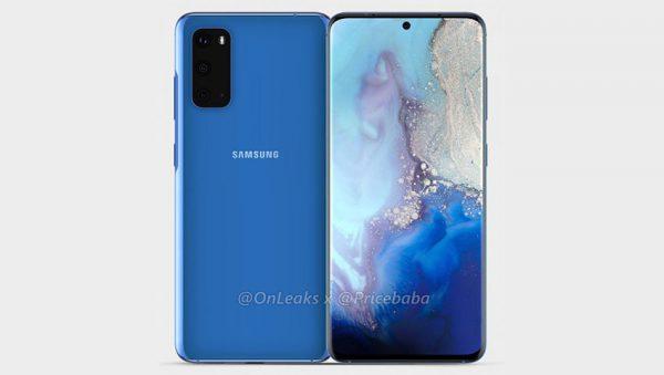 Galaxy S11e renders (1)