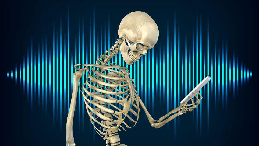 تشخیص هویت با صدای استخوان
