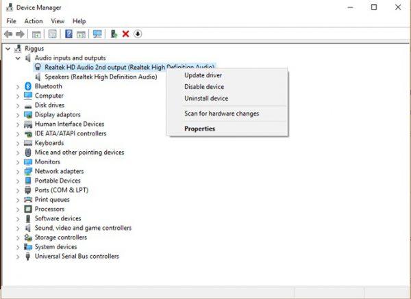 چند راه حال برای مشکل از کار افتادن هدفون در ویندوز 10