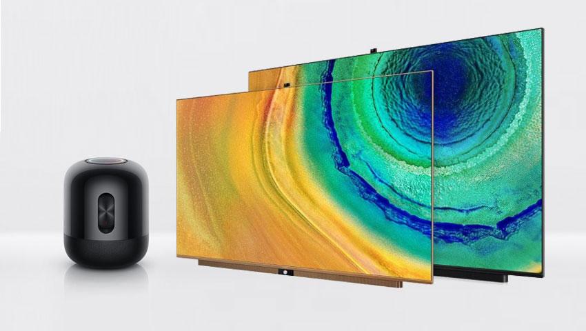 تلویزیون و بلندگوی هوشمند هواوی