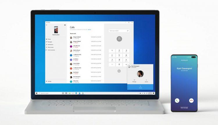 امکان برقراری تماس از طریق ویندوز 10
