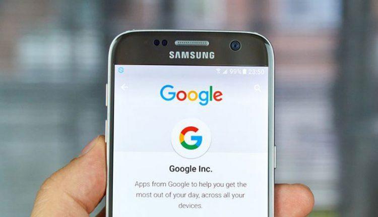 اکانت گوگل اندروید