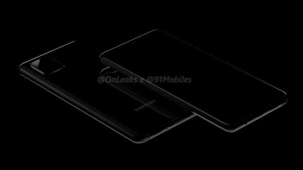 تصاویر گلکسی ای 81 (Galaxy A81)