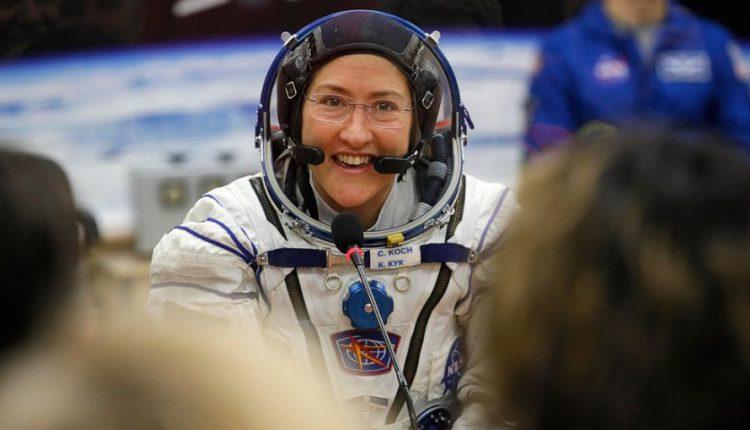 فضانورد امریکایی رکورد طولانی ترین مدت حضور یک زن در فضا را به نام خود ثبت کرد