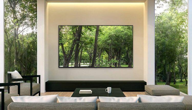 رونمایی از تلویزیون بدون حاشیه سامسونگ در نمایشگاه CES