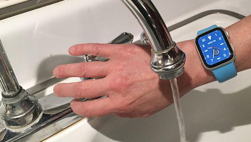 انواع ردهبندی ضد آب بودن ساعتهای هوشمند