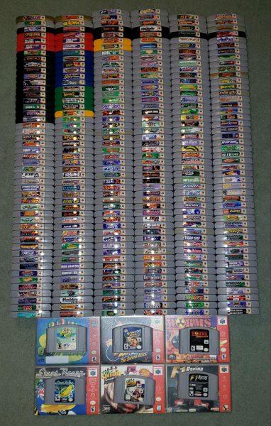 مجموعه کامل بازیهای نینتندو 64