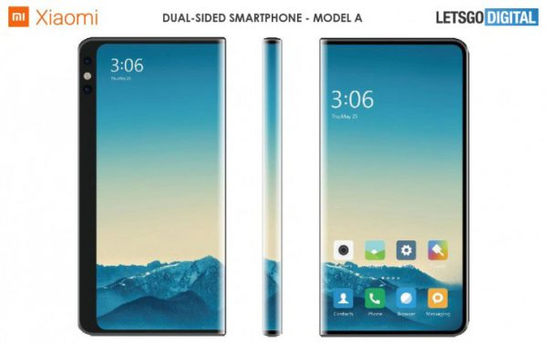 dual-sided smartphones model A