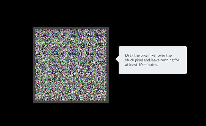 چطور سوختگی پیکسل صفحه نمایشتان را درست کنید