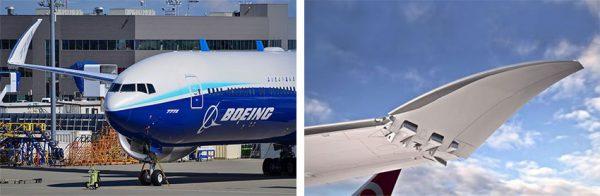 بالهای تاشوی بوئینگ 777 ایکس