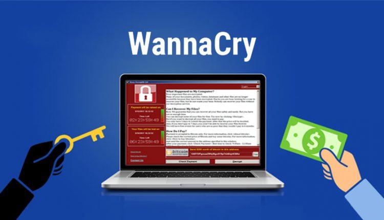باج افزار WannaCry