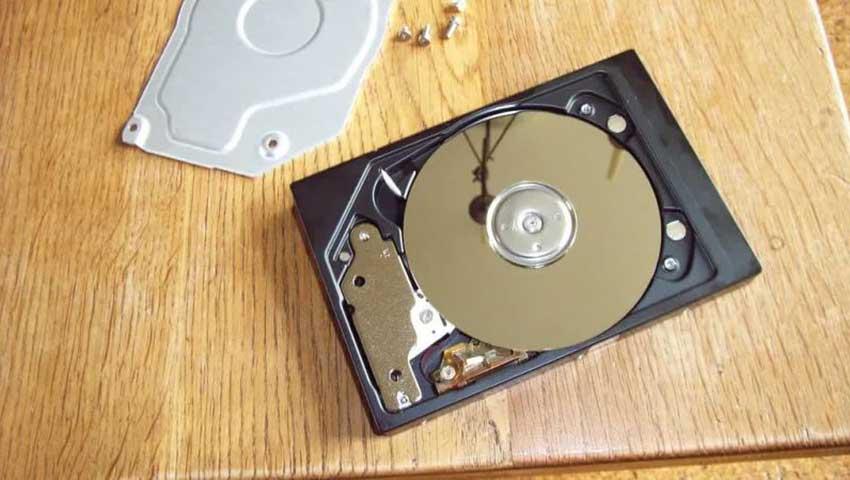 نشانه های خرابی هارد دیسک چیست