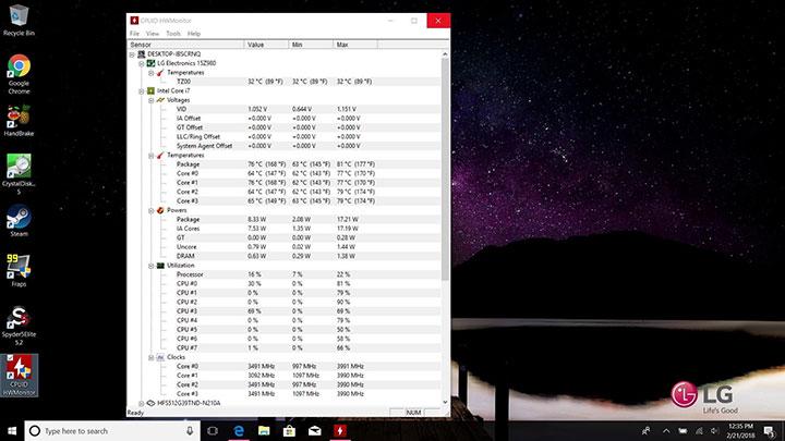 چطور دمای پردازندهتان را چک کنید