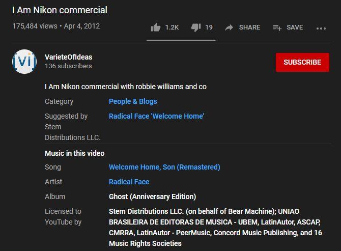 چطور آهنگ ویدیوهای یوتیوب را تشخیص دهیم