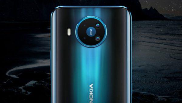 دوربین نوکیا 8.3 فایو جی