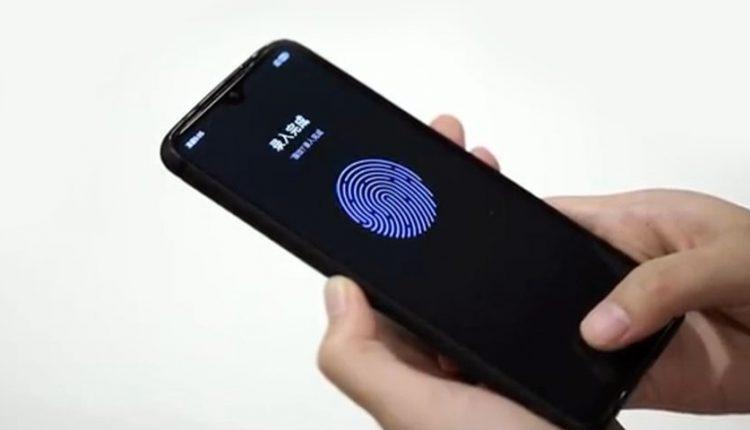 اسکنر اثر انگشت زیر نمایشگر LCD