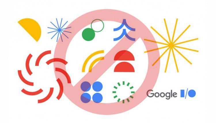 رویداد گوگل I/O لغو شد