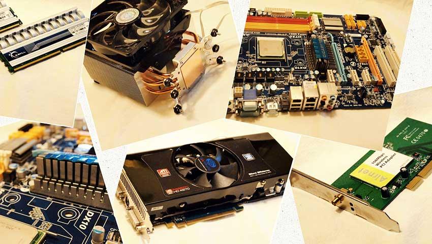 بخشهای مختلف رایانه و نحوهی ارتقای آنها