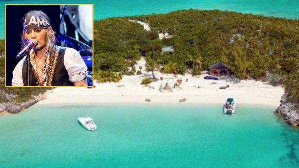 جزایر شخصی ستارگان مشهور 1