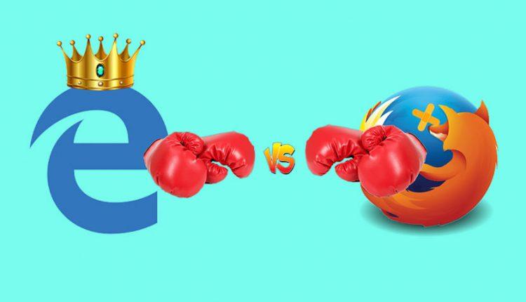 مایکروسافت اج و فایرفاکس