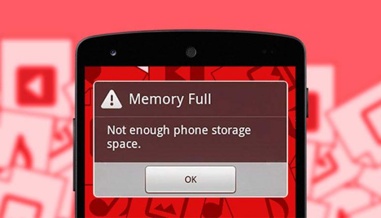 چگونه حافظه گوشی را خالی کنیم؟