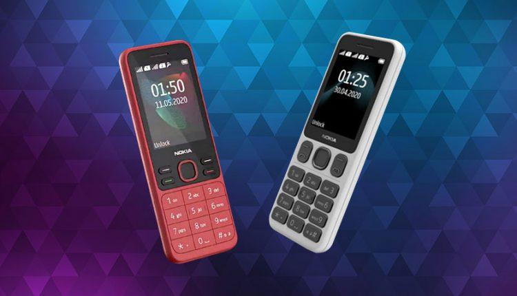 گوشیهای ساده و ارزان قیمت نوکیا 125 و نوکیا 150