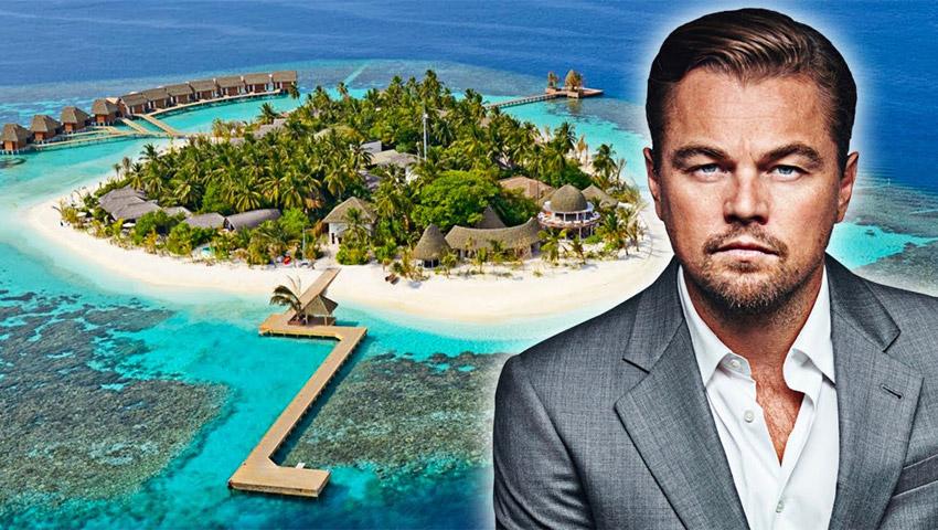 کدام یک از ستارگان مشهور دنیا جزیره شخصی دارند؟