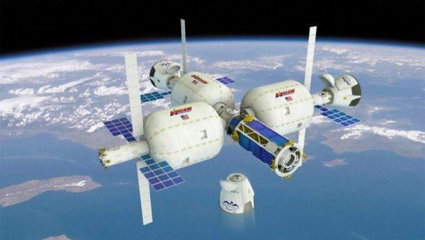 سفر کپسول کرو دراگون به سمت ایستگاه فضایی