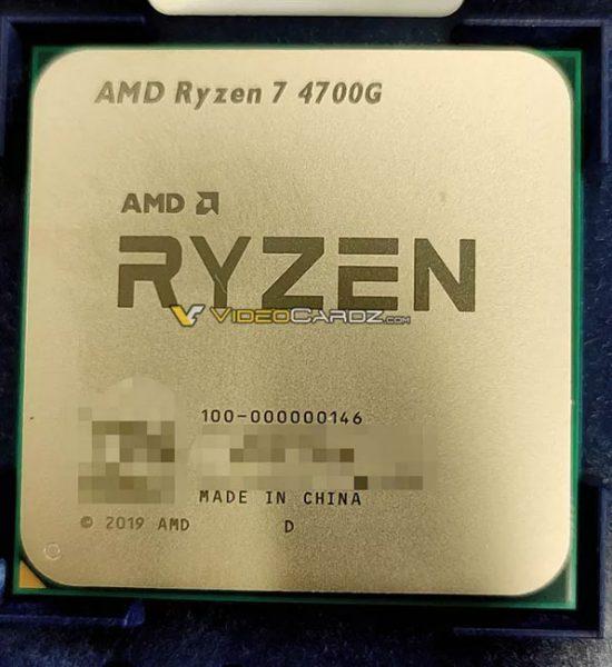 پردازنده Ryzen 7 4700G