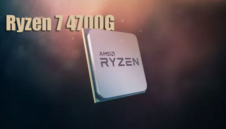 پردازنده دسکتاپ Ryzen 7 4700G