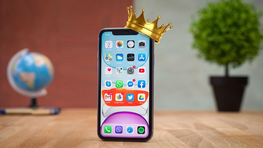 آیفون 11 پرفروشترین گوشی سال 2020
