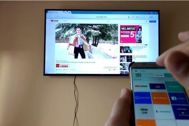 اتصال گوشی سامسونک به تلویزیون