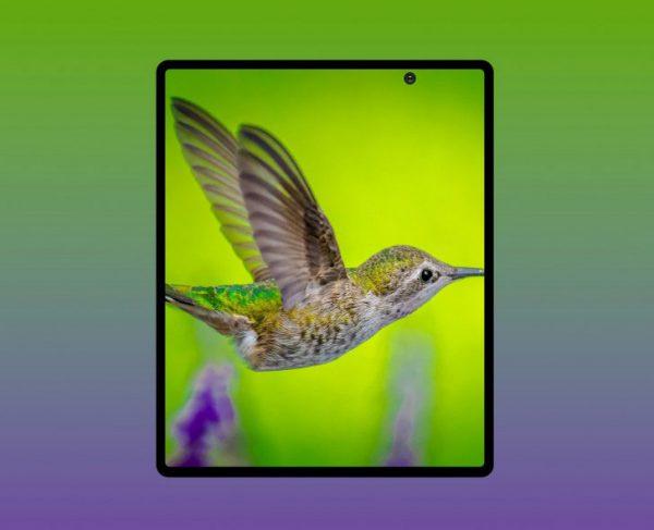 تصویر رندر شده جدید از گلکسی فولد 2