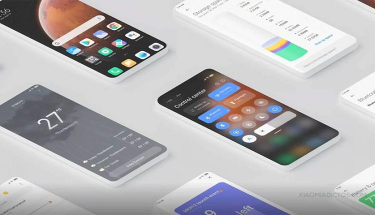 بهروزرسانی MIUI 12 برای گوشیهای ردمی