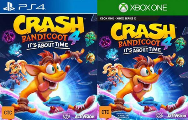 کاور آرت بازی Crash Bandicoot 4: It's About Time