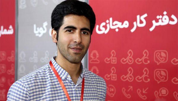 علی دشتی مدیرعامل «دفتر شما»