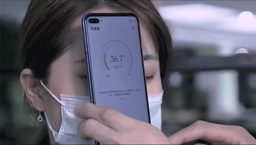 آنر پلی 4 پرو دمای بدن کاربر را اندازه خواهد گرفت
