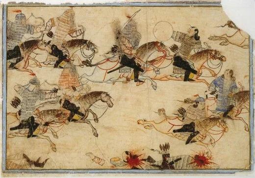 جنگجویان مغول