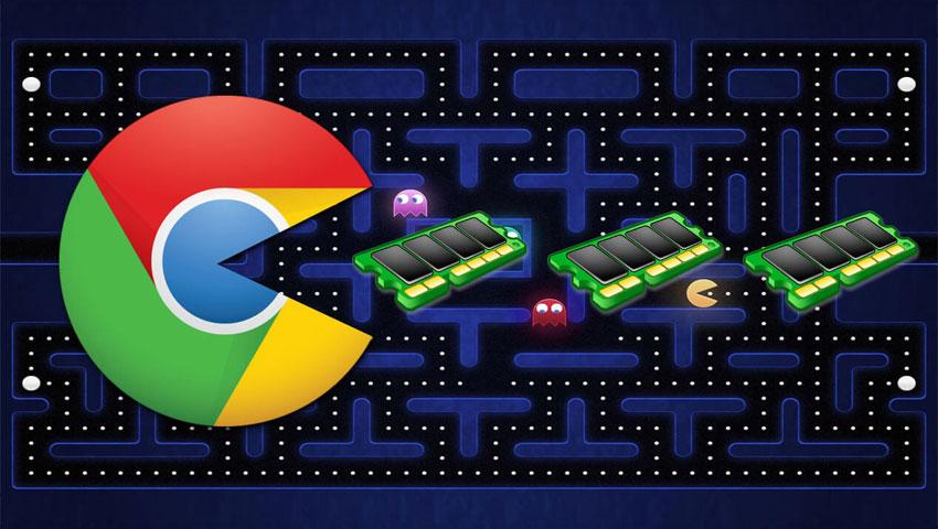 مصرف حافظه رم گوگل کروم در ویندوز 10