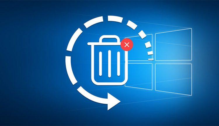 آموزش بازگردانی فایلهای پاک شده با ابزار داخلی ویندوز