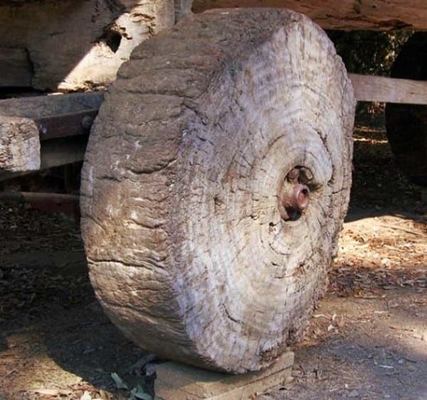 اختراع چرخ