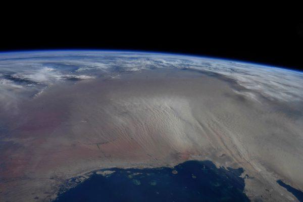 طوفان شن از فضا