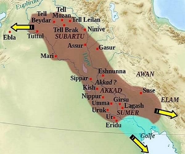 ظهور امپراتوری اول بابل