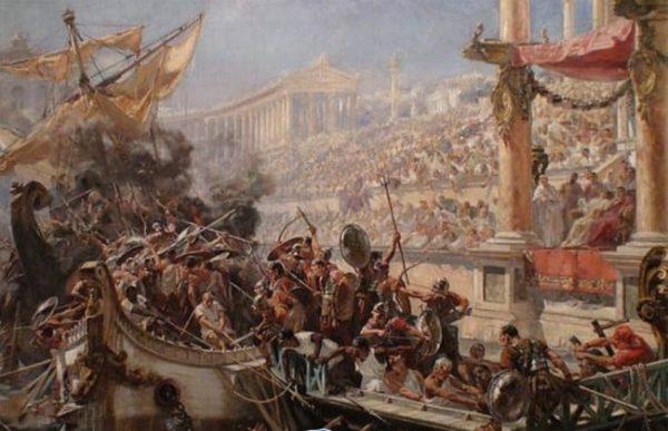 نبرد دریایی گلادیاتورها