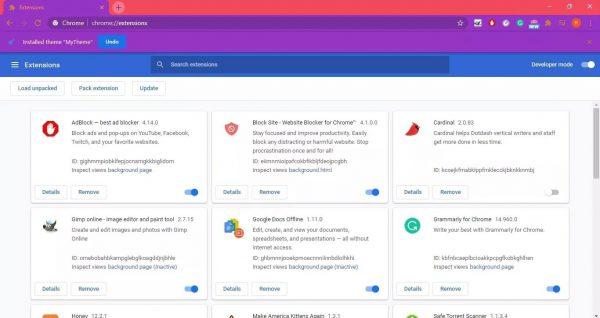 نحوه ساخت تم برای مرورگر گوگل کروم 11