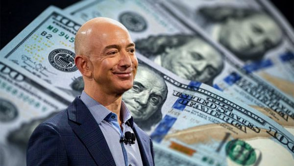 جف بزوس، ثروتمندترین فرد جهان