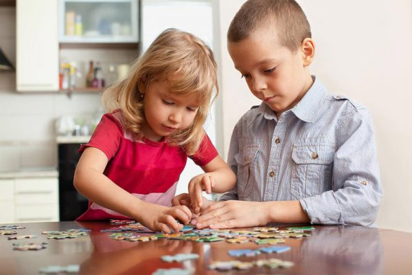 جورچین ها و رشد ذهنی کودکان