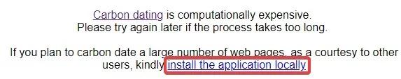 استفاده از سایت Carbon Dating