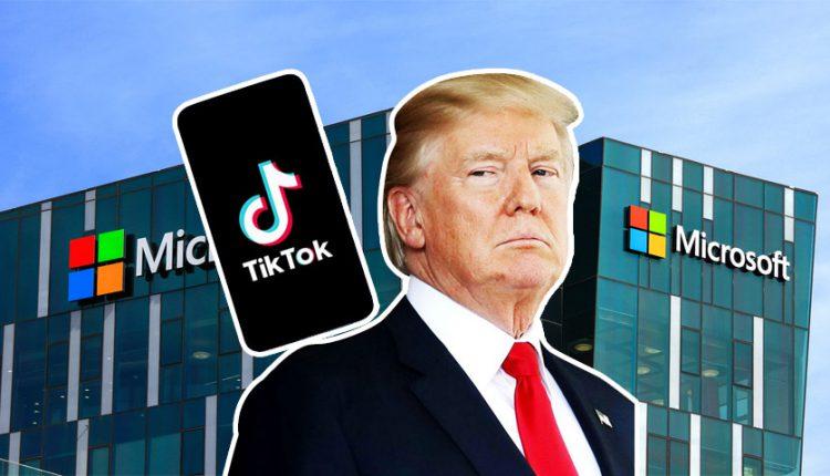 مایکروسافت برای خرید تیک تاک باید از سد ترامپ بگذرد